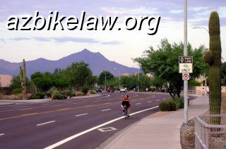a real bike lane